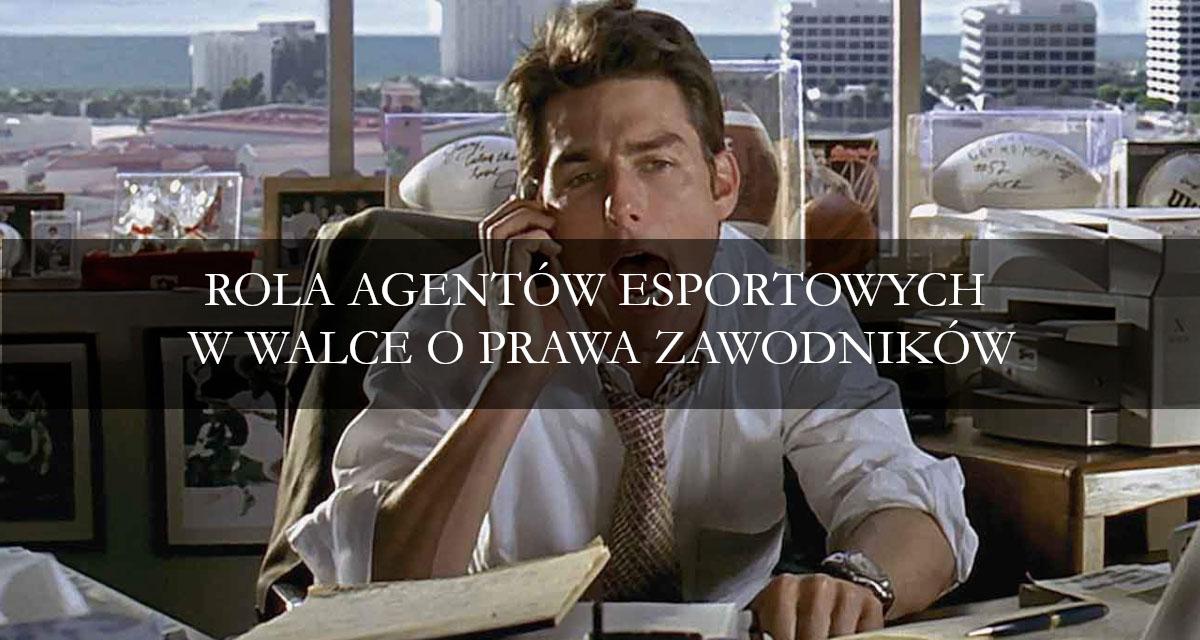 Rola agentów esportowych w walce o prawa zawodnika